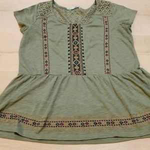 Maurices Large Olive Tee